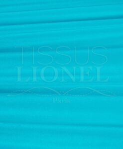velour lisse turquoise