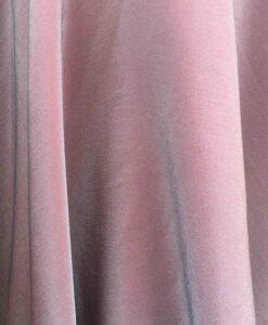 Velours de soie gris changeant crevette