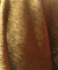 velluto di seta oro rosso che cambia