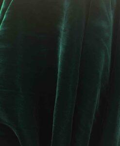 velluto di seta verde che cambia verde