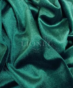 Velvet spandex green duck