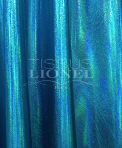 Vinyl turquoise hologram