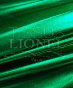 vinyl lamé vert