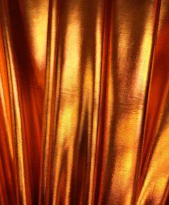 Vinyl orange lamé