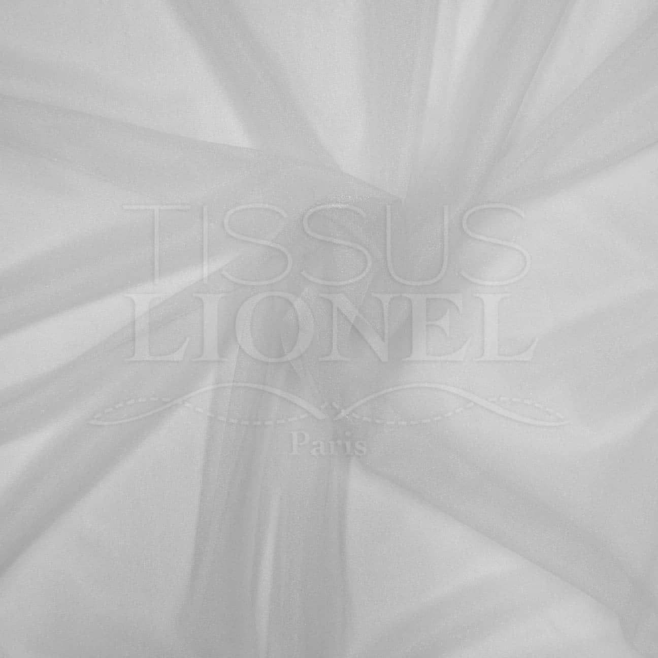 Voile Cristal Blanc Mat Tissus Lionel