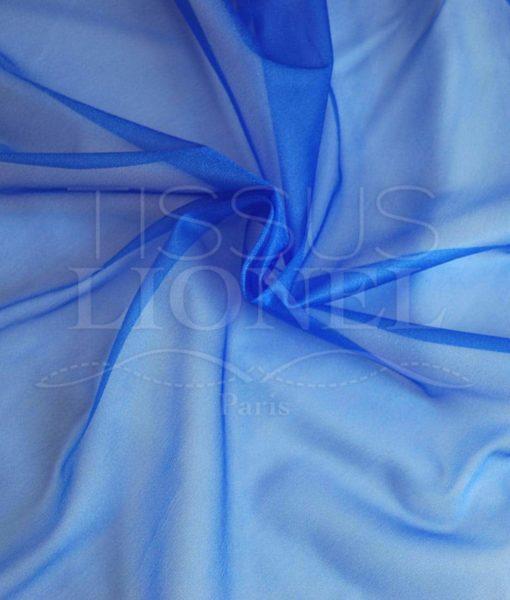voile cristal bleu royal