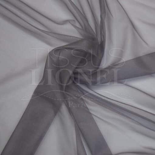 voile cristal gris foncé