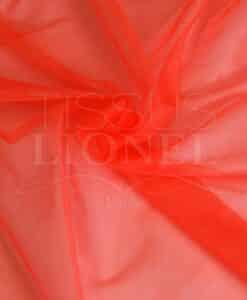 fluoreszierende orangefarbener Kristall Schleier