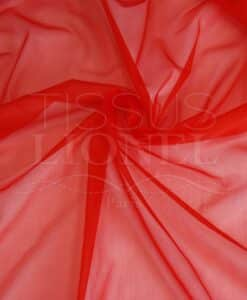 voile cristal rouge