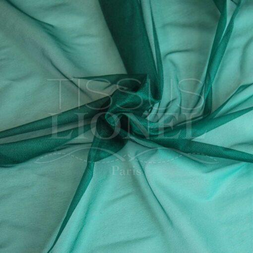 voile cristal vert sapin