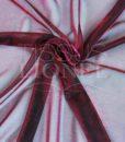 voile lurex changeante rouge et fushia