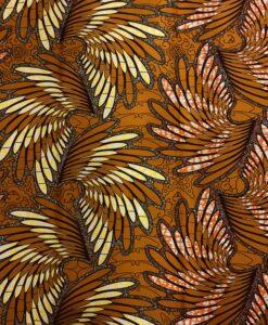 Wachs- Afrikanische Stoffe Palmen